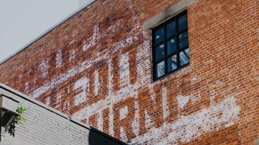 Fortitude Valley building with text