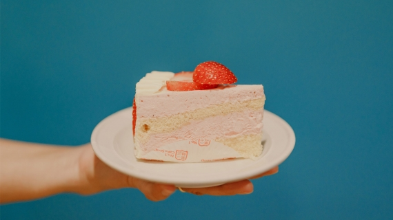 Cheung's Cakes & Cafe - strawberry cake